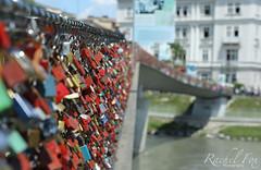 Pont d'amour #Markartsteg #Salzburg #Austria (Rachel Fox 1) Tags: bridge salzburg water river austria salzach loverslocks markartsteg