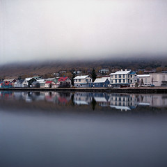 Rolling Fog (Kenneth Ipcress) Tags: iceland kennyip djpivogur fog hasselblad