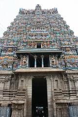 Madurai, Sri Meenakshi Temple, western gopuram
