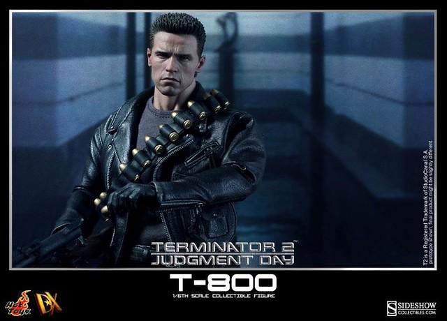 Hot Toys DX10 『魔鬼終結者2』T-800 重武裝現身!