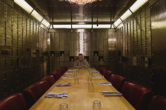 In the vault ! (Nick Barkworth) Tags: restaurants dining jamieoliver bankvault lumixlx5