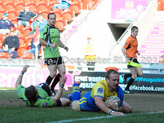 Doncaster RLFC 46 - 12 South Wales Scorpions