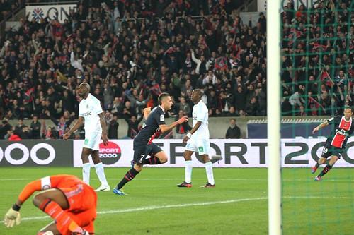 Jérémy Ménez devant 46 252 supporters parisiens 1-0