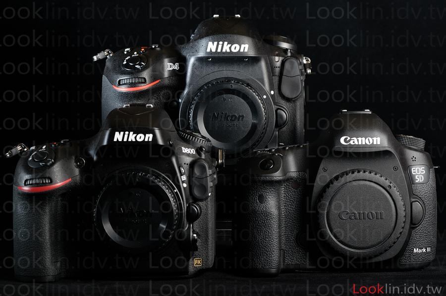 Nikon D4 D800 Canon 5D3