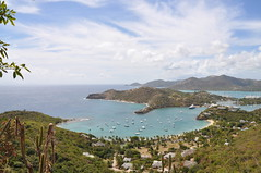 view of nelsons dockyard, antigua (franbanks1 -( colin banks) ( 1 million views , tha) Tags: boats view harbour bluesky antigua bluesea falmouthharbour thegalaxy franbanks