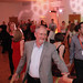 Jim Broadbent dancing at the Ceilidh at Surgeons Hall
