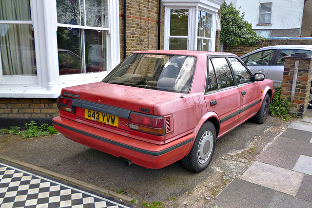 1989 Nissan Bluebird 1.8 GS Saloon
