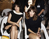 Clotilde Hesme and Alexa Chung Paris Fashion Week Fall / Winter 2013- Chanel - Inside Arrivals Paris, France