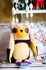 mom owl by Wassupbrothers (wassupbrothers) Tags: stuffedtoy bird handmade crafts owl collectibletoy owlsome wassupbrothers artsofrtoy owlsfamily