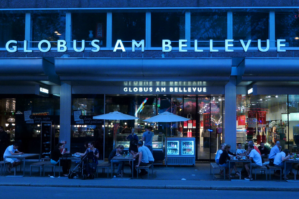 Globus Weihnachtsbeleuchtung.The World S Best Photos Of Bellevue And Globus Flickr Hive Mind
