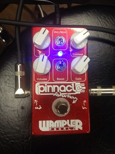 Wampler Pedals Pinnacle セッティング例