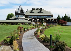 The Reserve Golf Club (CarolMunro) Tags: green club oregon golf fairway golfcart hillsboro aloha clubhouse grapevines thereserve