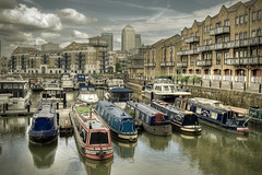 Limehouse Basin, London (violinconcertono3) Tags: london marina landscapes canal flickr unitedkingdom fineart cityscapes regentscanal canarywharf eastlondon fineartphotography davidhenderson london2012 londonist narrowboats limehousebasin fineartphotographer londonphotographer 19sixty3 residentialflats 19sixty3com