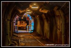 Underground Tunnel, Sloss Furnaces (MR MARK | photography) Tags: old railroad 2 abandoned metal train underground al birmingham factory alabama rail tunnel historic software pro nik coal furnace hdr sloss furnaces slossfurnaces efex frps071412 niksoftwareefexpro2