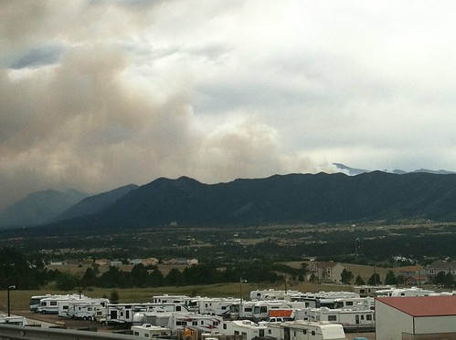 Waldo Canyon Fire Smoke 2