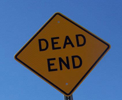 dead end sign by sadiehart, on Flickr