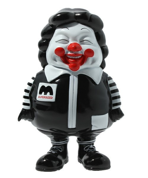 聯名黑麥胖Toy Tokyo X Secret Base X Ron English:McSupersized Me