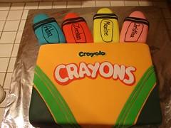 Crayon Cake by Christine S. Twin Cities, MN, www.birthdaycakes4free.com