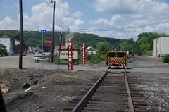 IMGP6347 (geepstir) Tags: car reading pennsylvania rail pa shamokin speeder sunbury narcoa