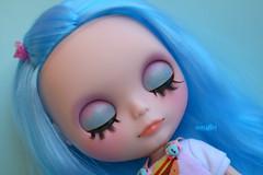 Faith's eyelids :)