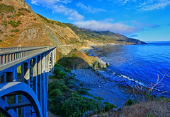 Big Creek Bridge on the Pacific Coast (Dave Toussaint (www.photographersnature.com)) Tags: ocean california ca travel bridge sea usa nature water dave creek forest photoshop canon landscape concrete ventana 1 coast photo los interestingness big high interesting highway day photographer dynamic pacific cs2 central picture august double hwy explore route pch cal national adobe padres labs sur wilderness range hdr 2012 topaz adjust toussaint infocus cen arched thegalaxy denoise the4elements 60d photographersnaturecom photoengine mygearandme oloneo flickrstruereflection1