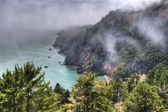 Jurassic Park or San Fran? (michaeledunn2457) Tags: ocean california bridge fog golden coast gate san pacific forrest coastal fransicso