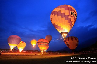 Balloon Festival in Taiwan 2012