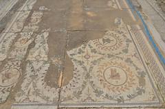Roman-Byzantine mosaics, Pupput (9) (Prof. Mortel) Tags: roman tunisia byzantine pupput