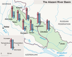 The Alazani River Basin (Zoi Environment Network) Tags: fall water ecology weather river georgia map evolution azerbaijan basin growth projection future caucasus area change environment geography trend temperature rise curve increase climatechange climate forecast prediction globalwarming drainage precipitation hydrology catchment tendency decrease alazani southcaucasus