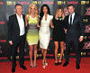 Dermot O'Leary, Louis Walsh, Tulisa Contostavlos, Nicole Scherzinger, Caroline Flack The X Factor - press launch held at the Corinthia Hotel. London, England