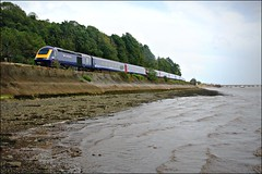 43029 (Thrash Merchant) Tags: railroad travel sea train canon coast seaside publictransit publictransportation diesel transport scenic rail trains seawall devon transportation seafront publictransport tamron railways firstgreatwestern mtu hst teignmouth railtrack highspeedtrain class43 intercity125 firstgroup ic125 fgw teignestuary powercar shaldonbridge canoneos450d firstrail firsttrains tamron18270 scenicrail teignmouthseawall 43029 devonrailways fgwhst devonrail teignmouthrail teignmouthtrains