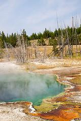 Slime-Bath (For91days) Tags: oldfaithful wyoming yellowstonepark