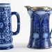 37. (2) English Art Nouveau Pitchers
