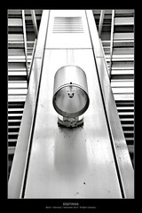 stainless (Armitage77) Tags: white black berlin slr lamp architecture facade canon germany deutschland eos lampe halogen architektur weiss schwarz stainless fassade rostfrei 5dmarkii