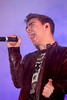 Nathan Sykes of The Wanted, at the switch on of the Meadowhall Christmas Lights at Meadowhall. Sheffield, England
