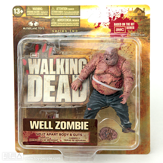 血腥勿入!THE WALKING DEAD電視版吊卡第二彈開箱報告!
