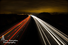 IMG_0092 (Alan Rampton) Tags: light motorway leicester streams m69
