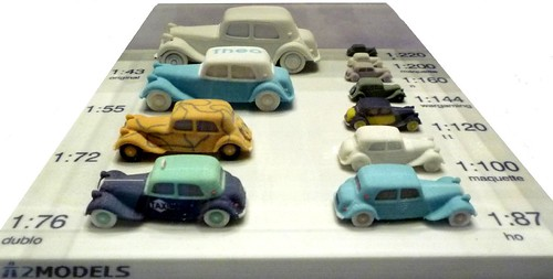 A2 Models Traction Avant
