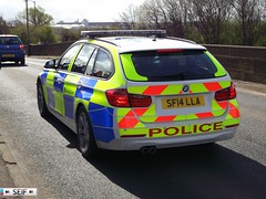 BMW 330 Touring (F31) Glasgow 2014 (seifracing) Tags: road rescue cars station scotland europe cops britain scottish police security bmw british emergency spotting services recovery strathclyde scania brigade unit ecosse policing f31 seifracing sf14lla