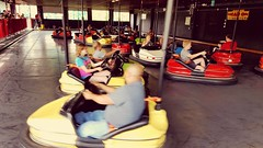 Crash course.... (Bubash) Tags: park people cars minnesota fun amusement cities twin bumper times valleyfair shakopee