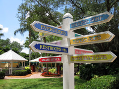 Directional Sign (meeko_) Tags: sign tampa island florida adventure waterpark adventureisland directional directionalsign