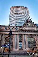 New York City's Architecture (Massimo Nittardi) Tags: nyc newyorkcity urban newyork skyline architecture skyscrapers metlife grandcentralterminal
