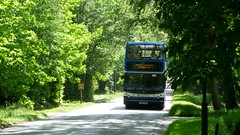 Winch Wentworth (bobsmithgl100) Tags: bus surrey alexander dennis virginiawater trident twg alx400 wellingtonavenue stagecoachhampshire kx05 18310 kx05twg wentworthpgagolfshuttle