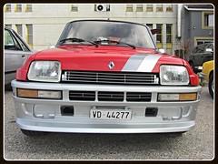 Renault 5 Turbo (v8dub) Tags: auto old classic car french schweiz switzerland automobile suisse 5 automotive voiture renault turbo oldtimer oldcar collector youngtimer wagen pkw klassik chavornay worldcars