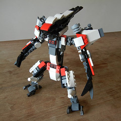DSCN6678 (alfa145q_lego) Tags: lego legocreator vehicletransporter 31033 alternate futureflyers 31034 mecha rebuild