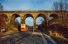 Five Arches Herries Road 15th Jan 1989 (Mr Bushy) Tags: er br sheffield yorkshire 1989 britishrail woodhead hillsborough southyorkshire greatcentralrailway gcr fivearches owlerton woodheadroute syt wadsleybridge easternregion mslr manchestersheffieldlincolnshirerailway herriesroad