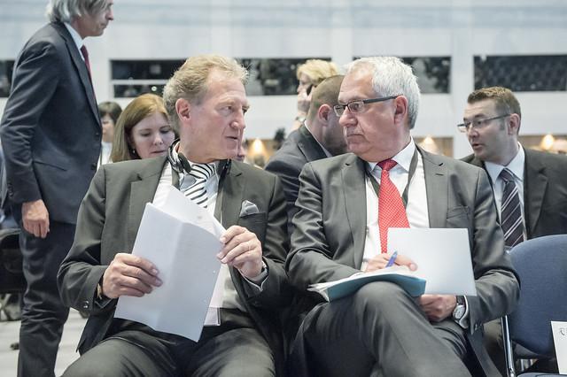 Norbert Barthle with Hans Christian Schmidt
