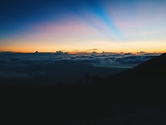 High above the clouds, waiting for the sunset. #sunset #sunsetlovers #sunset_pics #sunsets #ijen #kawahijen #volcano #indonesia #backpacking (oetsie) Tags: above sunset clouds indonesia for volcano high waiting sunsets backpacking ijen kawahijen sunsetpics sunsetlovers