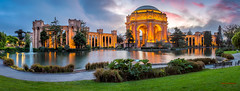 Engagement (Marvin Manabat Photography) Tags: sanfrancisco park longexposure wedding sunset architecture outdoors engagement panoramic dome bayarea palaceoffinearts pofa canon5dmarkiii ef2470mmf28liiusm marvinmanabatphotography