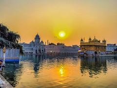 When Gold Meets Gold (Dovid100) Tags: india reflections gold sikh punjab amritsar hdr goldentemple iphone harmandirsahib